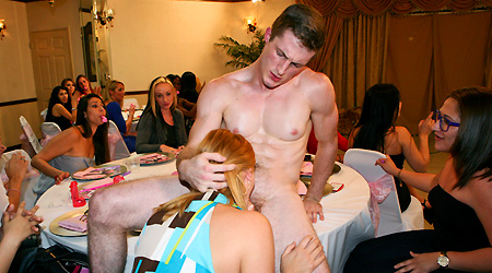Dick-Sucking Orgy For The Bride To Be dancingbear