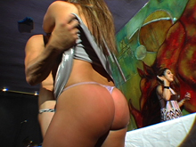 The Strip show of Her Life 1