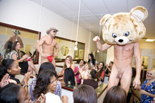 Fully Nude Birthday Party