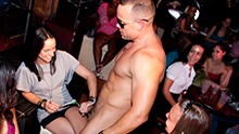 Dick In a Box CFNM party