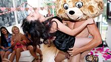 The Bear Makes a House Call CFNM party